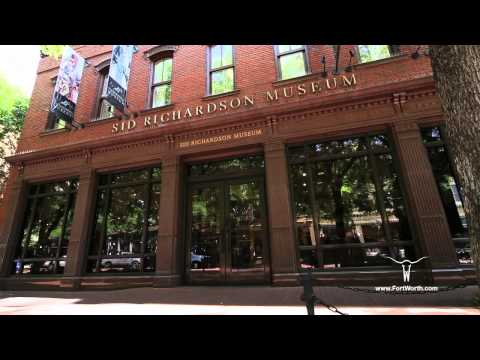 """Fort Worth, Texas """"Museums & Galleries/Cultural District"""" a travel destination video"""