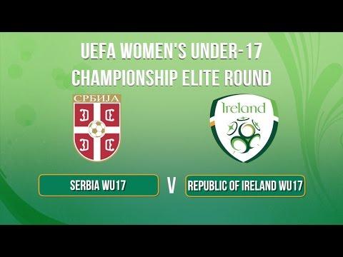 WU17 Highlights: Republic of Ireland 1-0 Serbia