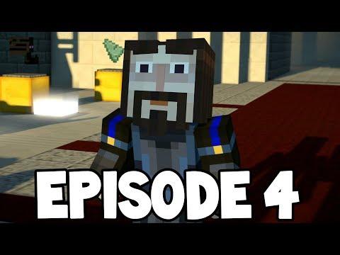 """Minecraft Story Mode: Season 2 - EPISODE 4  - NINJA IVOR !? """"Below The Bedrock"""""""