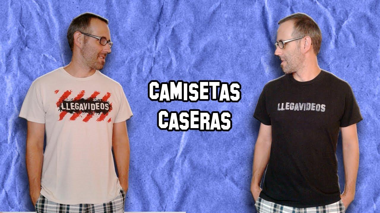 C mo personalizar camisetas caseras experimentos caseros for Camisetas hippies caseras