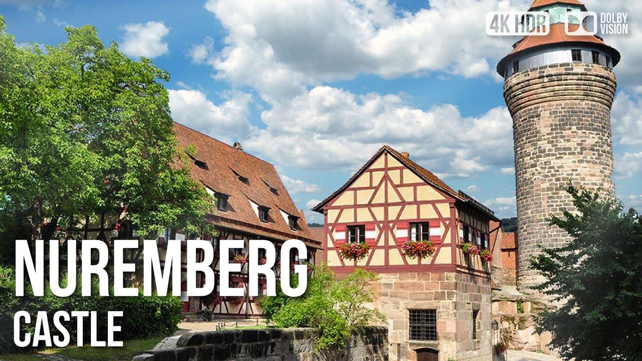 Inside Nuremberg Castle - 🇩🇪 Germany - 4K Walking Tour