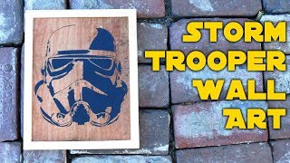 Video Star Wars Storm Trooper Wall Art from Reclaimed Materials download MP3, 3GP, MP4, WEBM, AVI, FLV April 2018