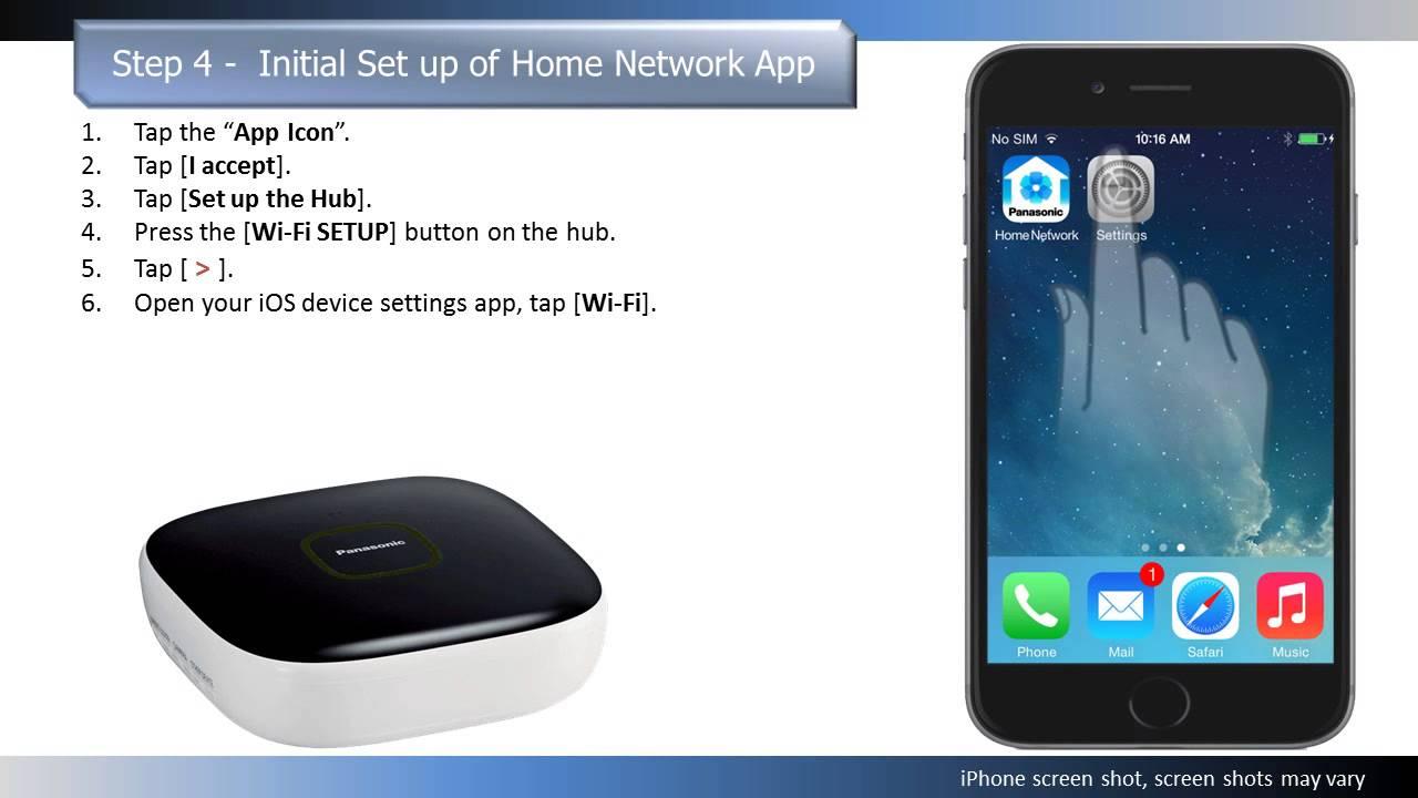 Panasonic Home Network System Home Alert Kit KX-HN6031