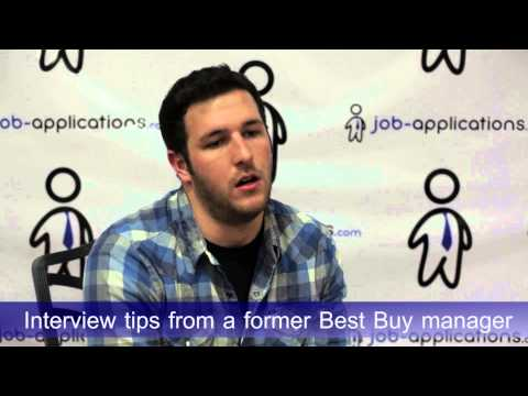 Interview Tips From A Best Buy Manager