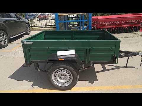 Прицеп автомобильный АМС-550 «Старконь»  г/п 360 кг купить Agrotractor.com.ua