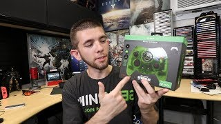 Xbox One Duke Controller Translucent Green Unboxing