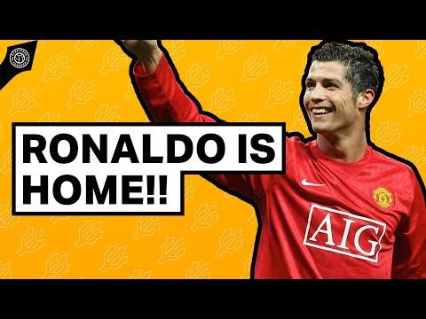 MAN UNITED FANS REACT: RONALDO IS HOME