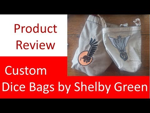 Product Review: Custom Dice Bags by Shelby Green