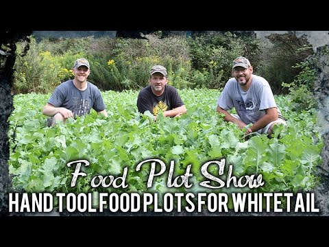 How To Plant Food Plots Using Nothing But Hand Tools