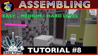 House Flipper Tutorial | Assembling Mountable Objects | #TipsTricks #HouseFlipperTutorials