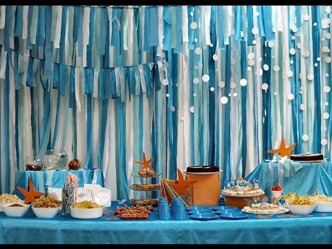 Sea/Beach Theme Suprise Party (Quincianera)