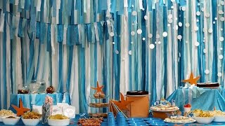Sea/Beach Theme Suprise Party (Quincianera)