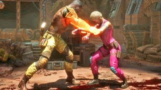 """Brutality """"Eu Disse Durma"""" do Jax Briggs no Mortal Kombat 11"""