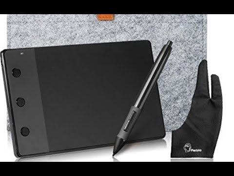 Huion H420 USB Graphics Drawing Tablet Board Kit Unboxing and Quick Review