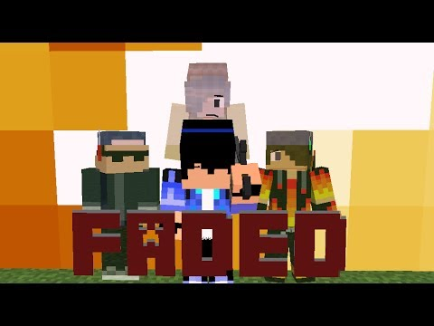 ♪ Faded - (Heroes Series Minecraft Animation Music Video #3) ♪