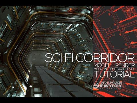 Sci Fi Corridor Tutorial Modo Commercial