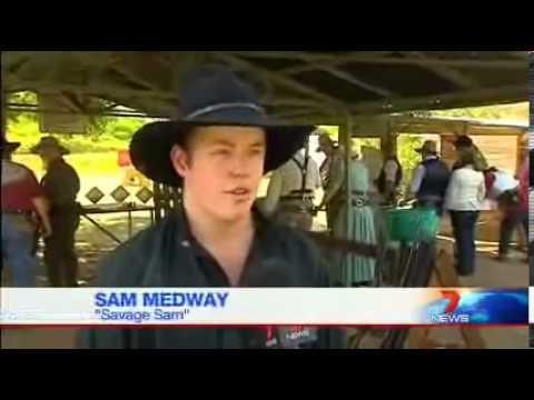Australia Single Action Shooting - Savage Sam   Australia May 2013