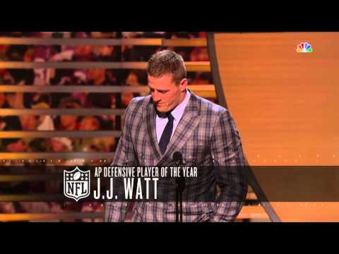 J.J. Watt takes home unanimous 2014 Defensive Player of the Year award