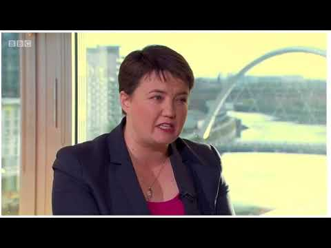 Andrew Marr interviews the FM and Ruth Davidson