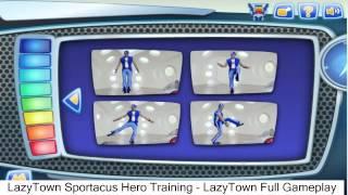 Lazytown Sportacus Hero Training