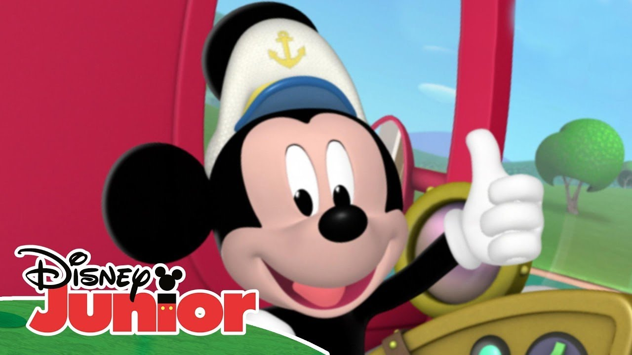 Knutsel Werkjes Mickey Mouse Clubhouse - 'aye Aye Captain Mickey' - Youtube