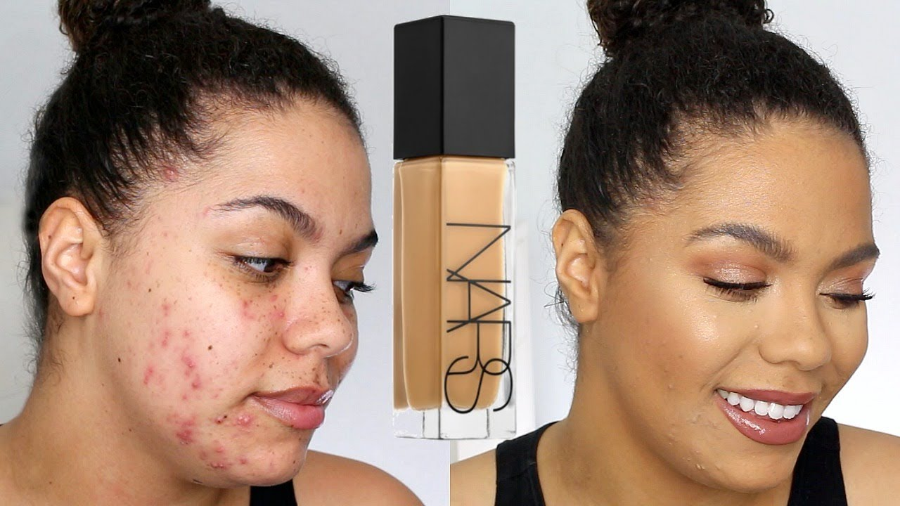 NARS Natural Radiant Longwear Foundation Review (oily acne) - YouTube ed33b6c8ef9f3