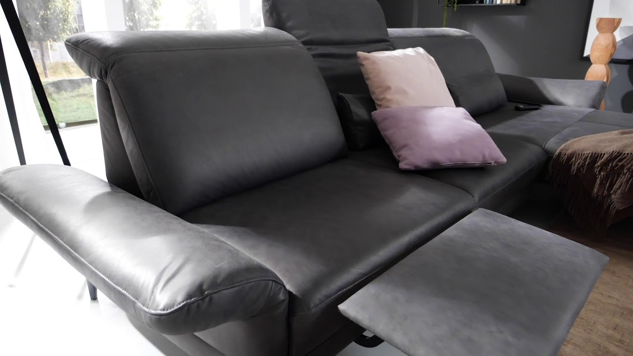 Musterring Ledersofa Musterring Sofa | Mr 1350 - Youtube