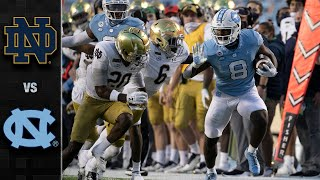 Notre Dame vs. North Carolina Football Highlight (2020)