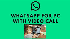 How To Use WhatsApp On PC [With Voice And Video Call Support]