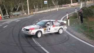 Best Drift,Spin, Donut... on Audi Quattro ever! Quattro Maniacs from Austria. Rally Legend 2011!