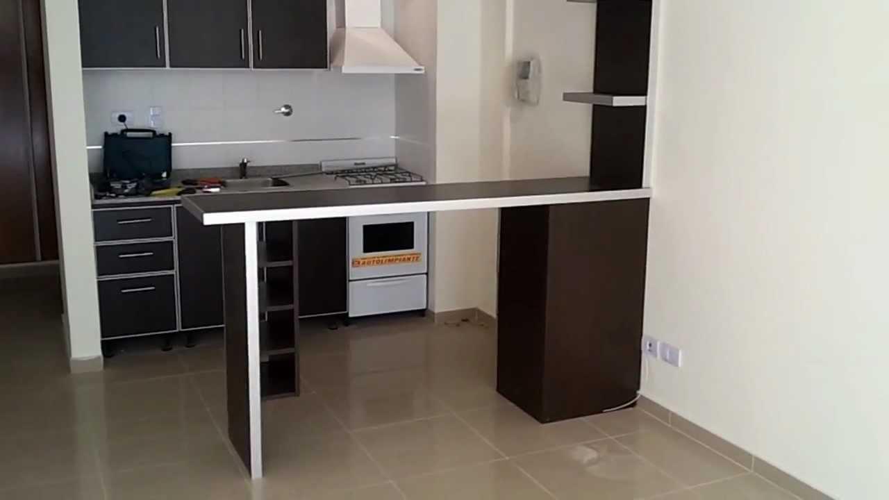 Barra desayunador y mueble wengue fabrica en villa devoto for Mueble barra cocina