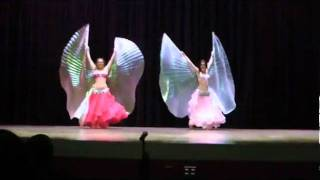 Belly Dance Isis Wing Performance Danielle and Leigh