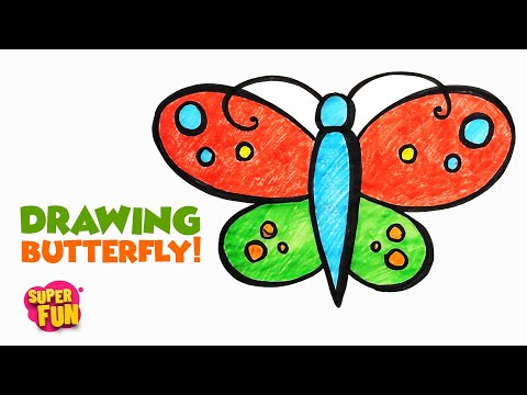 How To Draw A Beautiful Butterfly Myhiton