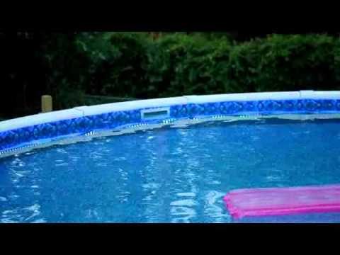 Pool With LED Lights - YouTube