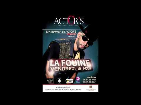 La Fouine à L'actors Agadir avec Play Radio