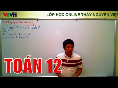 [Toán 12] Đề thi trung học phổ thông quốc gia 2017 – Mã đề 101 – 35 câu đầu