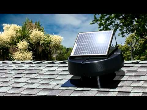 Solar Powered Attic Fans from U.S. Sunlight Corp