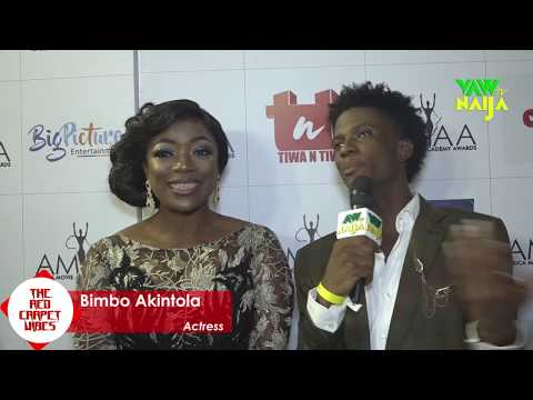 Ramsey Nouah, Stephanie Linus, Mr Ibu, Bimbo Akintola, Others step out for AMAA 2017