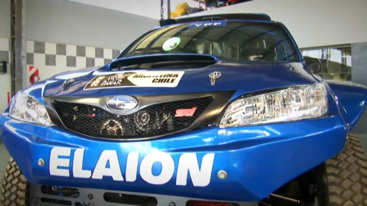 Dakar Subaru Forester Barattero Youtube