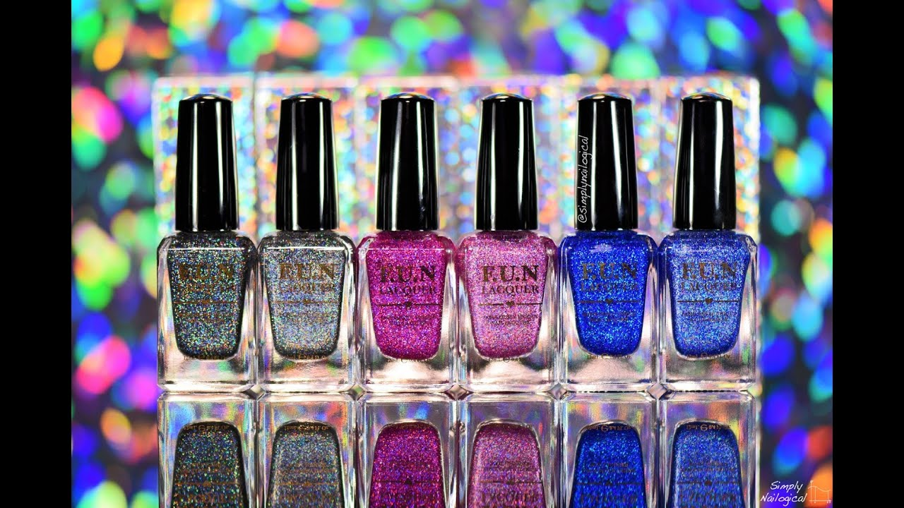 F.U.N Lacquer x Simply Nailogical Collection - YouTube