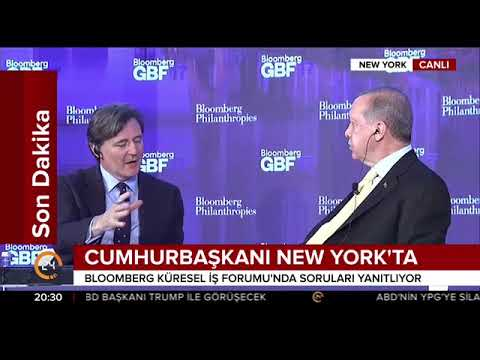 Cumhurbaşkanı Erdoğan New York'ta iş adamlarına hitap etti