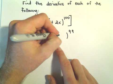 More Chain Rule Examples #1