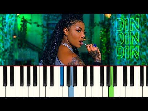 💎Ludmilla - Din Din Din - Piano tutorial - MASTER TECLAS💎