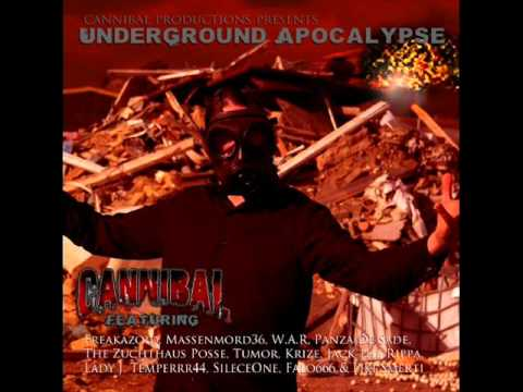 Cannibal - Underground Apocalypse Album Snippet