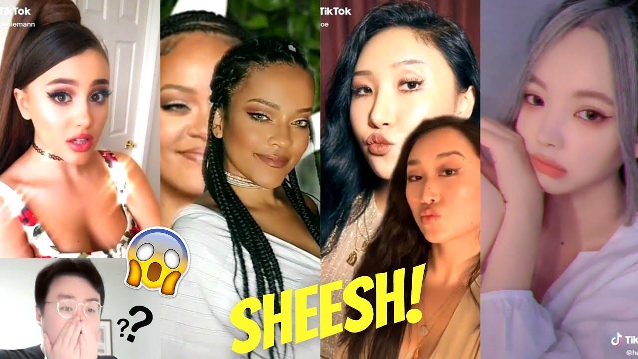 Korean Reacts to Celebrity Look Alike TikTok Compilation (Reaction Video)