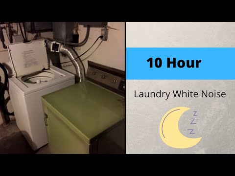 10 Hours of Laundry White Noise