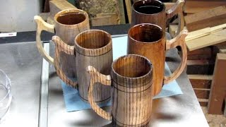 #82 Woodturning Solid Mugs and Tankards Part 1 of 2