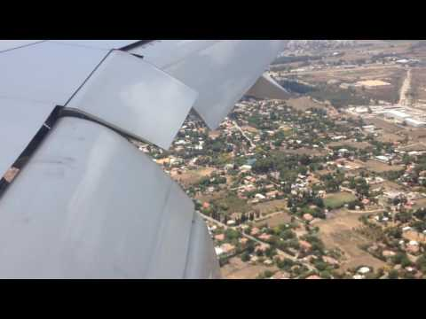 Посадка Боинг - 777-300 Рейс Аэрофлот Москва Тель-авив 18.07.2014г.