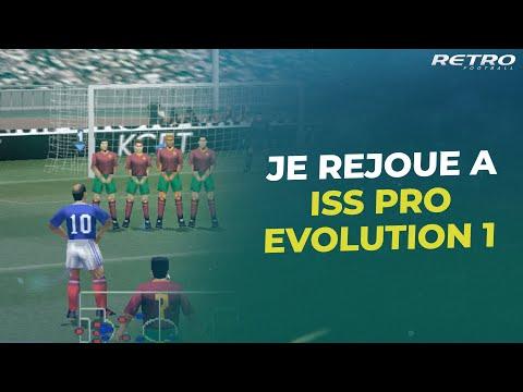 Retro Football : Je rejoue à ISS Pro Evolution (R9, meilleur 9 de l'histoire)