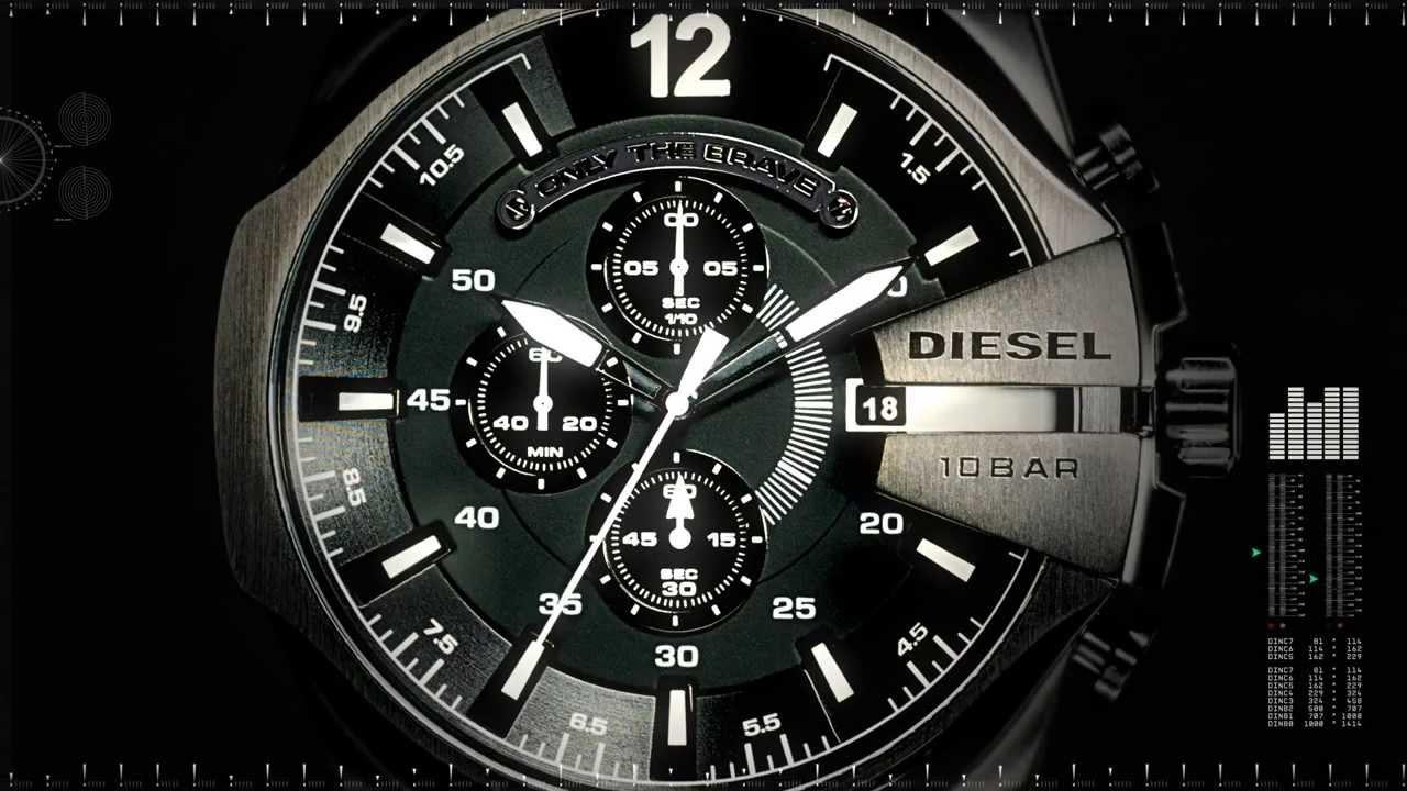 Diesel MegaChief Watch - YouTube